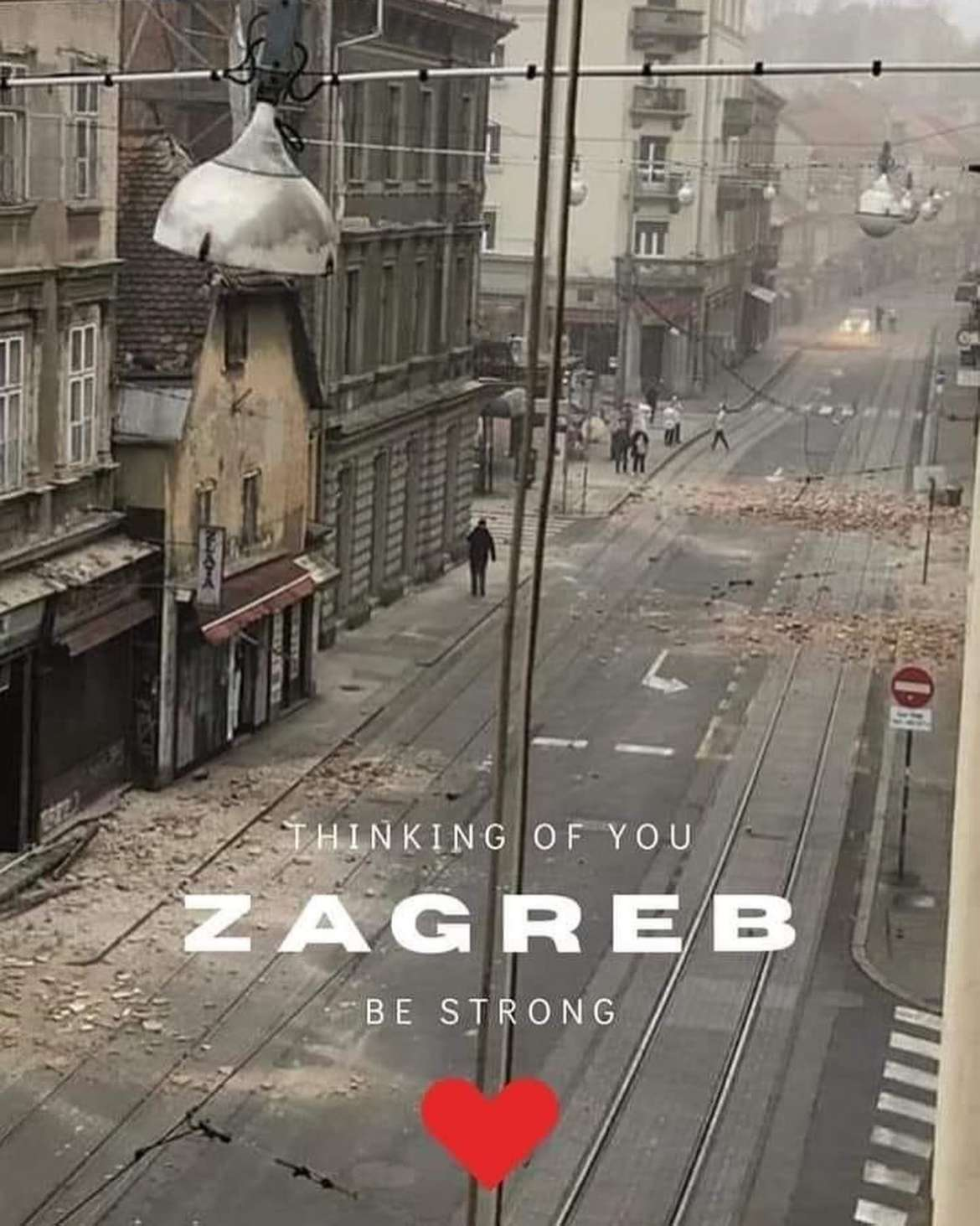 Zagreb, stay strong